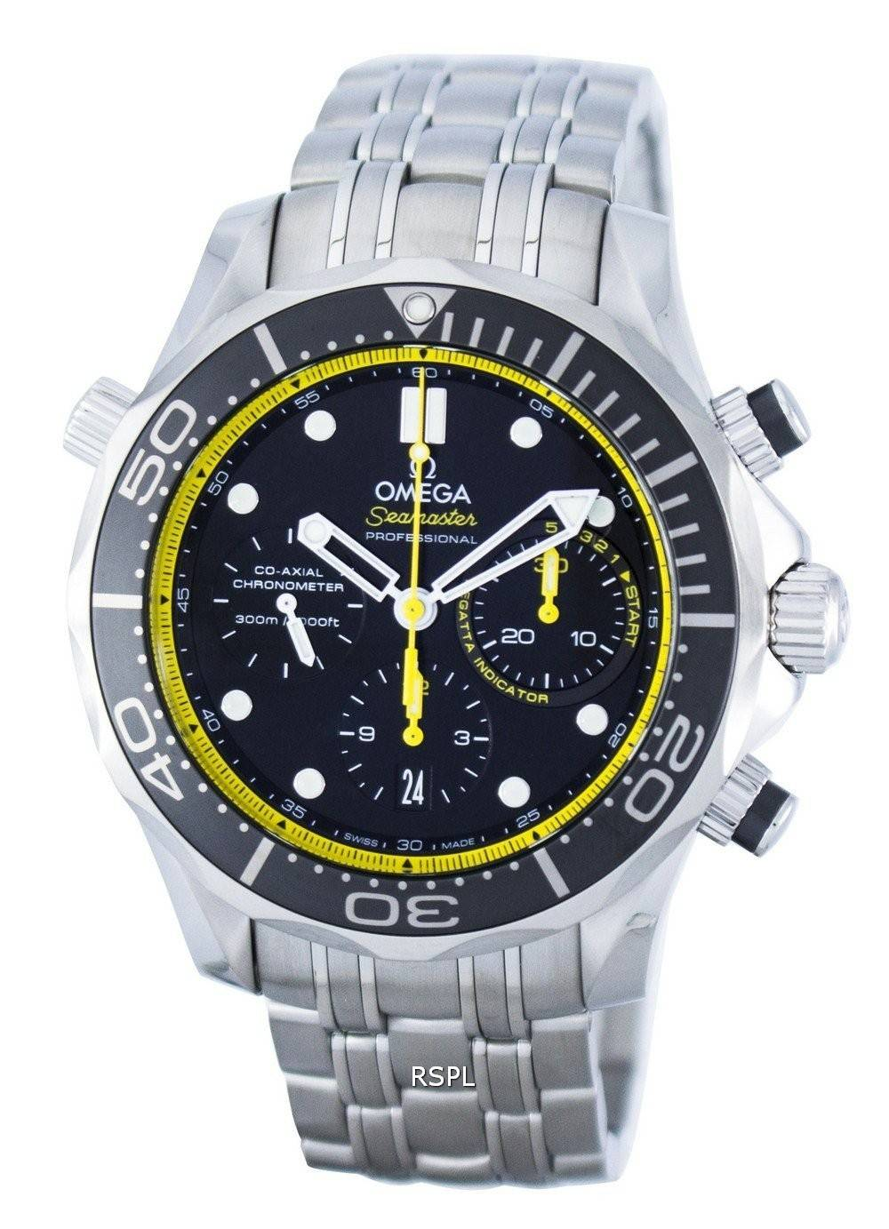 Omega seamaster professional co axial diver 39 s chronograph automatic men 39 s for Omega seamaster professional