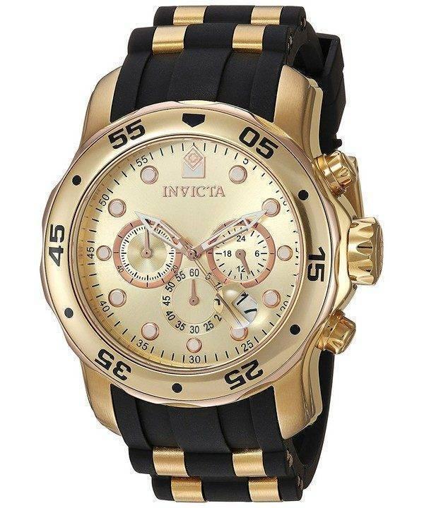 Invicta Pro Diver Chronograph Quartz 17884 Mens Watch