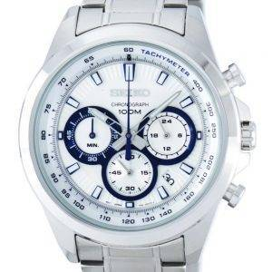 Seiko Chronograph Quartz Tachymeter SSB239 SSB239P1 SSB239P Men's Watch