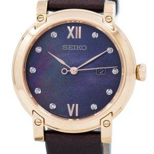 Seiko Quartz Crystals SXDG88 SXDG88P1 SXDG88P Women's Watch