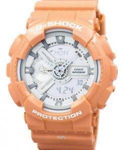 Casio G-Shock Orange Analog Digital GA-110SG-4A Mens Watch