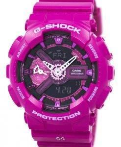 Casio G-Shock S Series Analog-Digital World Time GMA-S110MP-4A3 Women's Watch