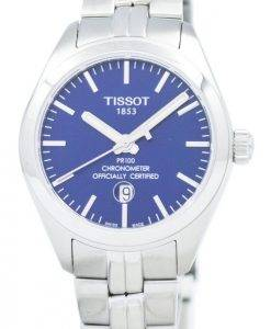 Tissot PR 100 Quartz COSC T101.251.11.041.00 T1012511104100 Women's Watch
