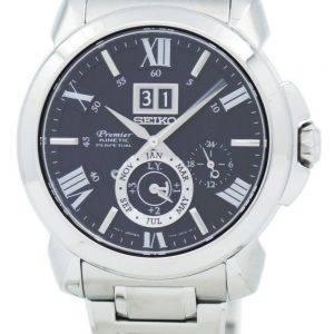 Seiko Premier Kinetic Perpetual Calendar SNP141 SNP141P1 SNP141P Mens Watch