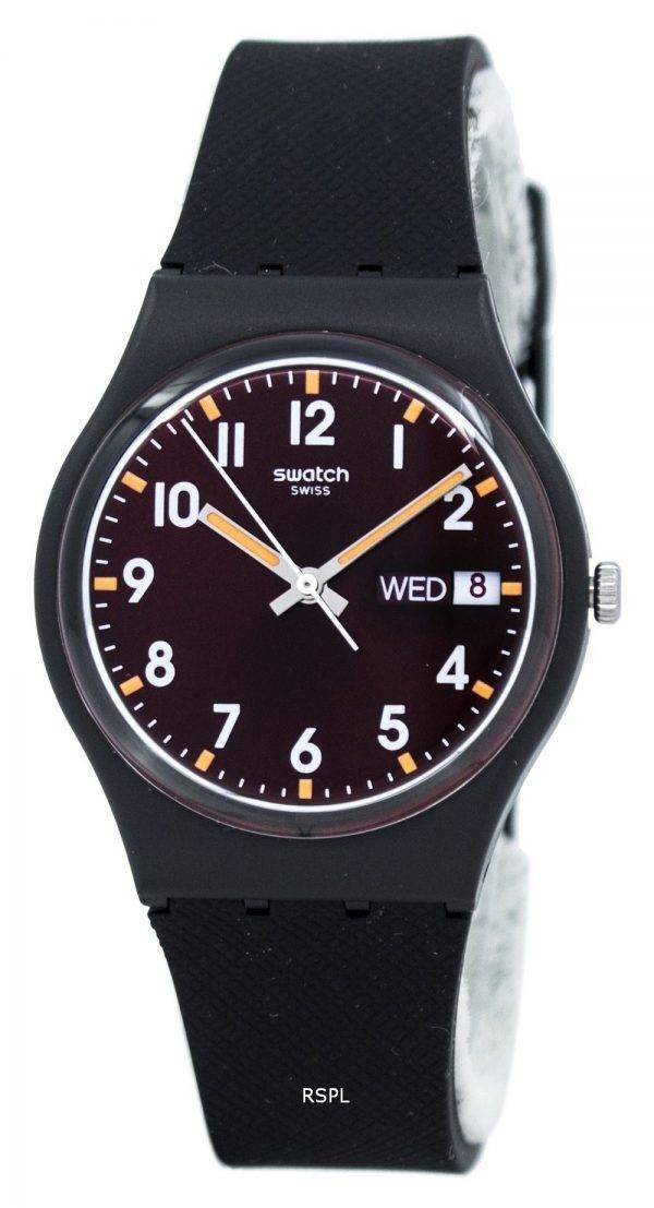 Swatch Originals Sir Red Quartz GB753 Unisex Watch