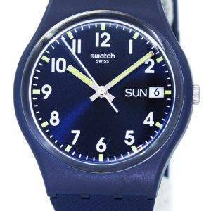 Swatch Originals Sir Blue Quartz GN718 Unisex Watch
