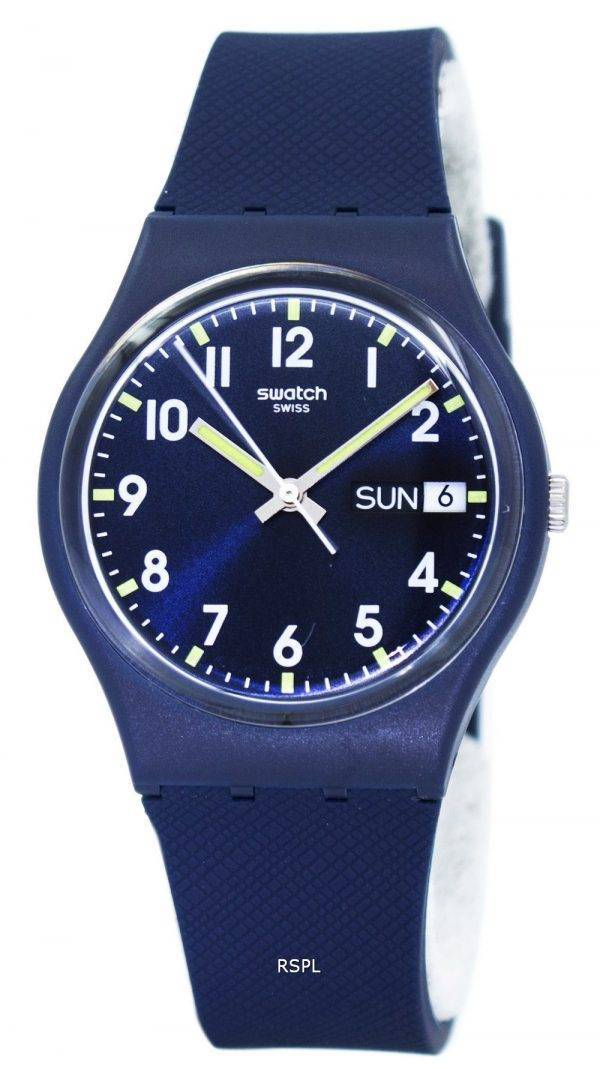 Swatch Originals Sir Blue Quartz GN718 Unisex Watch
