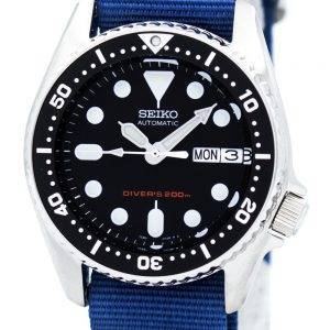 Seiko Automatic Diver's 200M NATO Strap SKX013K1-NATO6 Men's Watch