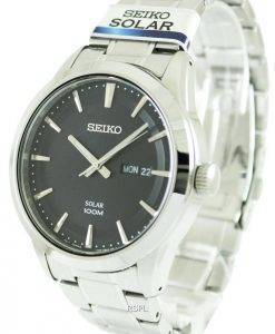 Seiko Solar Powered 100M SNE363P1 SNE363P SNE363 Mens Watch