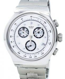 Swatch Irony Wealthy Star Chronograph Tachymeter Quartz YOS401G Men's Watch