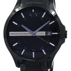 Armani Exchange Black Dial Stainless Steel AX2104 Mens Watch