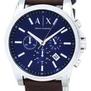 Armani Exchange Quartz Chronograph Blue Dial AX2501 Mens Watch