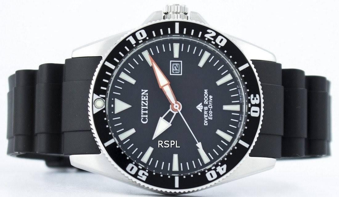 8253af788 Citizen Promaster Marine Diver's Eco-Drive 200M BN0100-42E Men's Watch