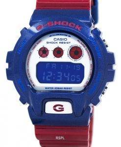 Casio G-Shock Blue And Red Series Digital DW-6900AC-2 Mens Watch