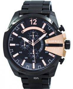 Diesel Quartz Chief Chronograph Black Dial DZ4309 Men's Watch