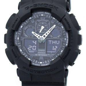 Casio G-Shock Military Matte Black GA-100-1A1 Mens Watch