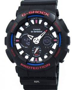 Casio G-Shock Analog Digital World Time Alarm GA-120TR-1A Men's Watch