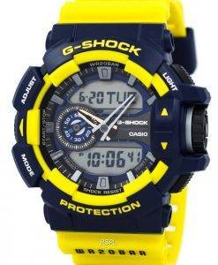 Casio G-Shock Analog-Digital Multi-Color 200M GA-400-9B Mens Watch