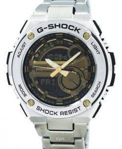 Casio G-Shock G-Steel Analog Digital World Time GST-210D-9A Men's Watch