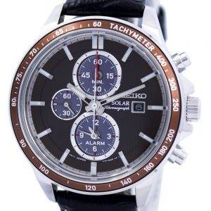 Seiko Solar Alarm Chronograph SSC503 SSC503P1 SSC503P Men's Watch
