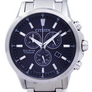 Citizen Eco-Drive Titanium Chronograph AT2340-81E Men's Watch