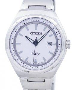 Citizen Eco-Drive Titanium Japan Made AW1251-51A Men's Watch