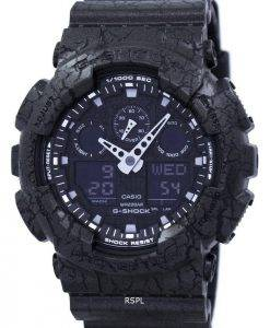 Casio G-Shock Shock Resistant World Time Analog Digital GA-100CG-1A Men's Watch