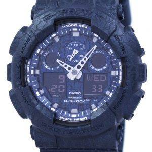 Casio G-Shock Shock Resistant World Time Analog Digital GA-100CG-2A Men's Watch