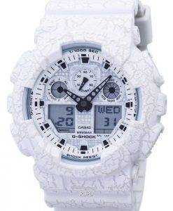 Casio G-Shock Shock Resistant World Time Analog Digital GA-100CG-7A Men's Watch