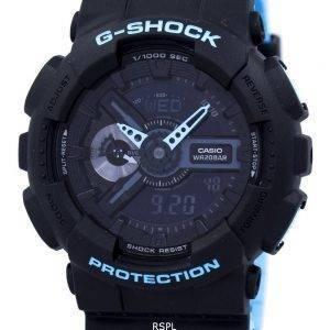 Casio G-Shock Shock Resistant World Time Alarm Analog Digital GA-110LN-1A Men's Watch