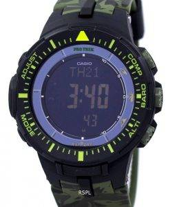Casio Protrek World Time Low Temperature Tough Solar Digital PRG-300CM-3 Men's Watch