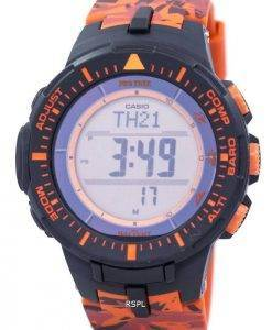 Casio Protrek Tough Solar Triple Sensor Digital PRG-300CM-4 Men's Watch