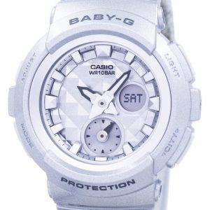 Casio Baby-G Shock Resistant World Time Analog Digital BGA-195-8A Women's Watch