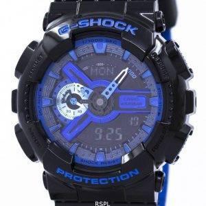 Casio G-Shock Shock Resistant World Time Analog Digital GA-110LPA-1A Men's Watch