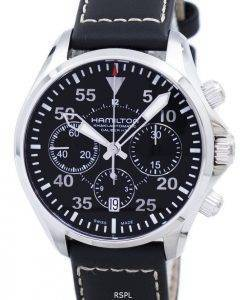 Hamilton Khaki Aviation Pilot Auto Chrono H64666735 Men's Watch