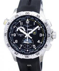 Hamilton Khaki Worldtimer Chrono Quartz H76714335 Men's Watch