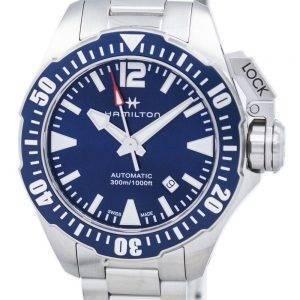 Hamilton Khaki Navy Frogman Automatic H77705145 Men's Watch