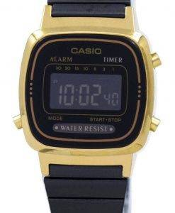 Casio Vintage Alarm Digital LA670WEGB-1B Women's Watch