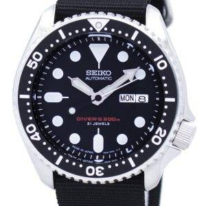Seiko Automatic Diver's 200M NATO Strap SKX007J1-NATO4 Men's Watch