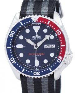 Seiko Automatic Diver's NATO Strap 200M SKX009J1-NATO1 Men's Watch