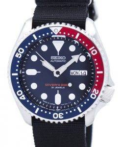 Seiko Automatic Divers 200M NATO Strap SKX009J1-NATO4 Mens Watch