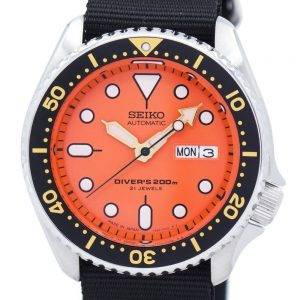 Seiko Automatic Diver's 200M NATO Strap SKX011J1-NATO4 Men's Watch