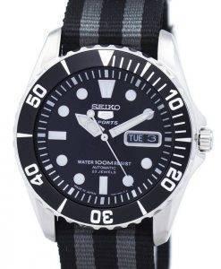 Seiko 5 Sports Automatic 23 Jewels NATO Strap SNZF17J1-NATO1 Men's Watch