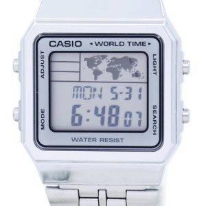 Casio Alarm World Time Digital A500WA-7DF Men's Watch