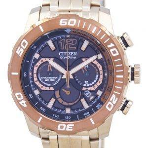 Citizen Eco-Drive Chronograph Tachymeter Analog CA4086-56E Men's Watch