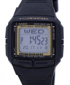 Casio Illuminator Multi-Lingual Databank Digital DB-36-9AV Men's Watch