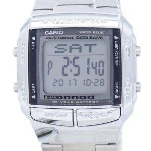 Casio Data Bank Illuminator Dual Time Alarm Digital DB-360-1A Men's Watch