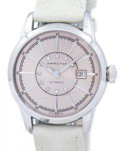 Hamilton American Classic Railroad Automatic Diamond Accent H40405821 Women's Watch