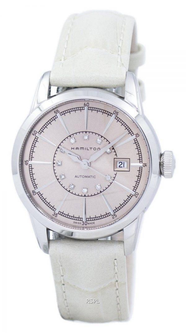 Hamilton American Classic Railroad Automatic Diamond Accent H40405821 Women's Watch
