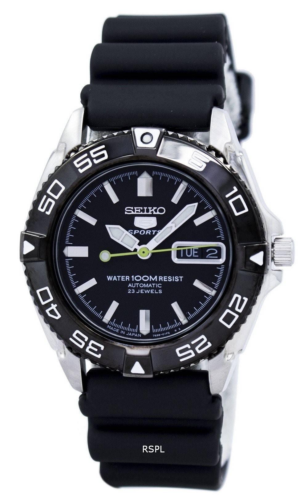 Seiko 5 Sports Automatic Japan Made 23 Jewels SNZB23J2 Mens Watch